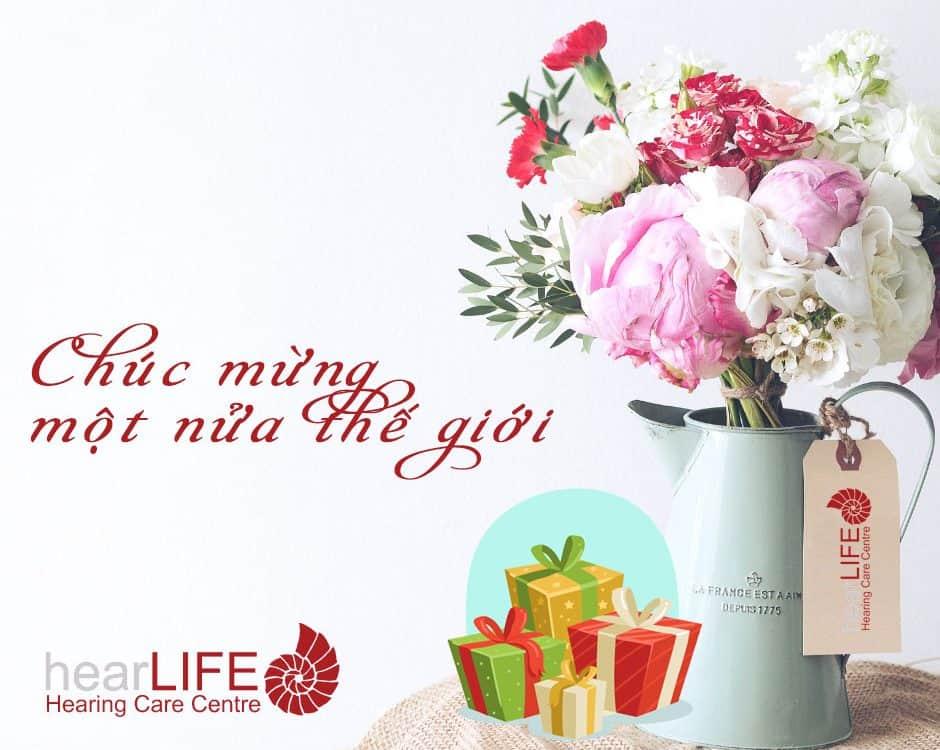 hearLIFE Cần Thơ chúc mừng ngày phụ nữ Việt Nam