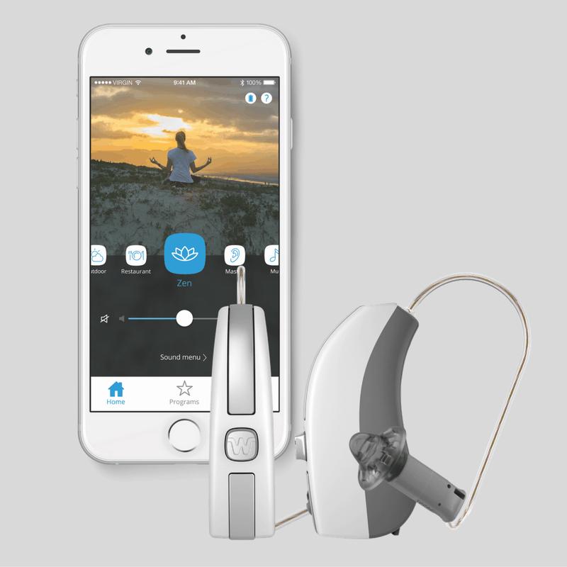 trị liệu ù tai với zen therapy của máy trợ thính widex